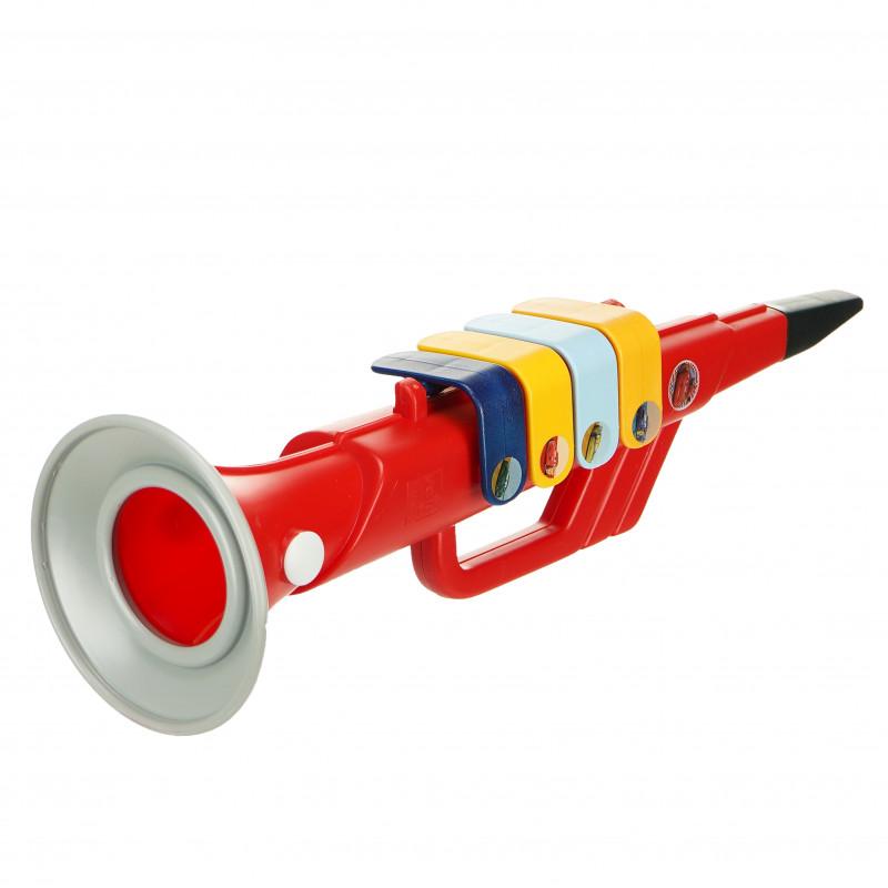Детски тромпет с 4 музикални ноти, Колите  96045