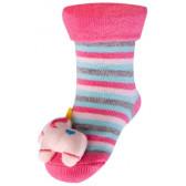 Памучни чорапи за момиче YO! 9644