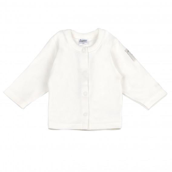 Памучна жилетка с дълъг ръкав за бебе - унисекс Pinokio 96871
