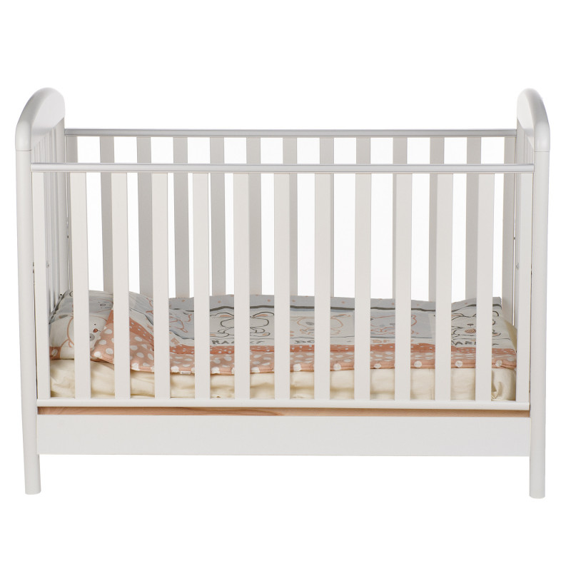Бебешко креватче, с дървена подматрачна рамка, 106х71х133 см.  97623