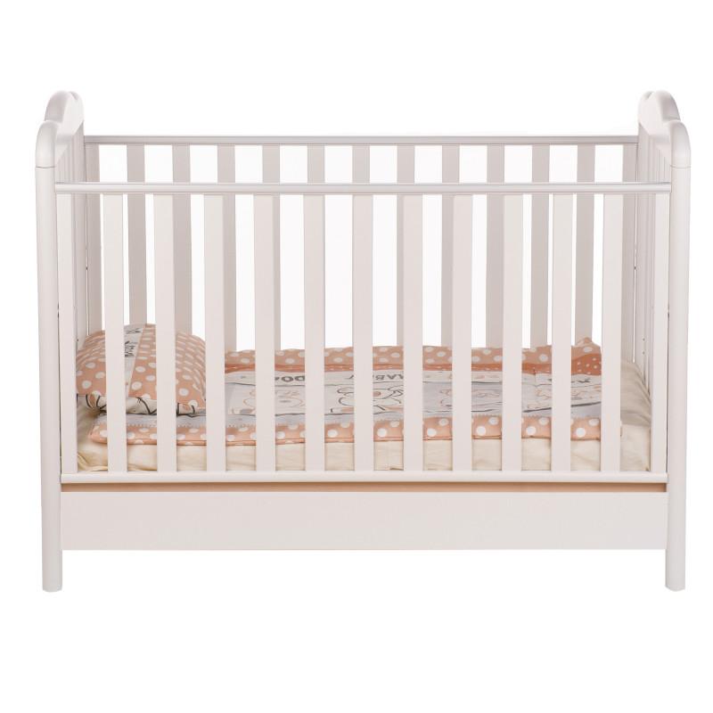 Бебешко креватче, с колелца които се свалят, 106х71х133 см.  97639
