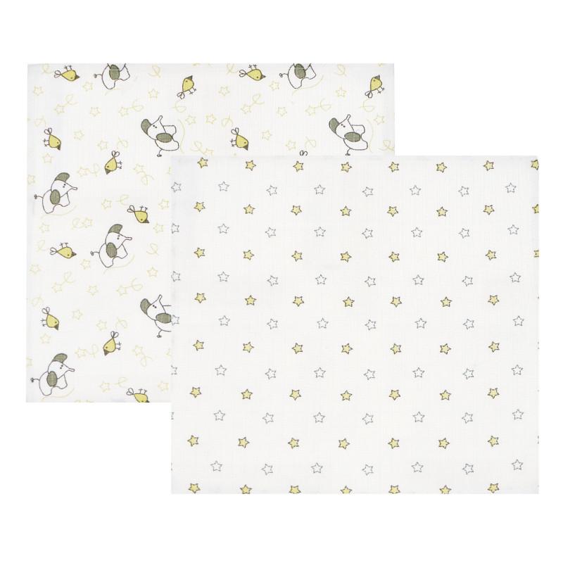 Комплект муселинови кърпи на животинчета  97707