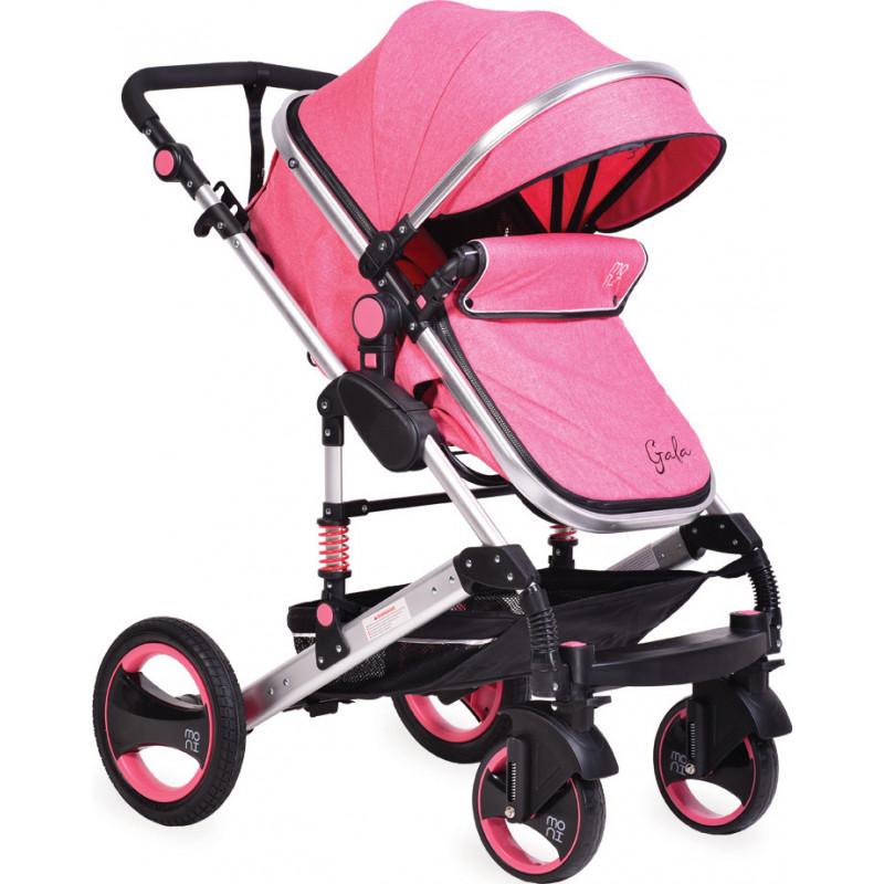 Комбинирана детска количка Gala 2 в 1 Premium, розова  97786