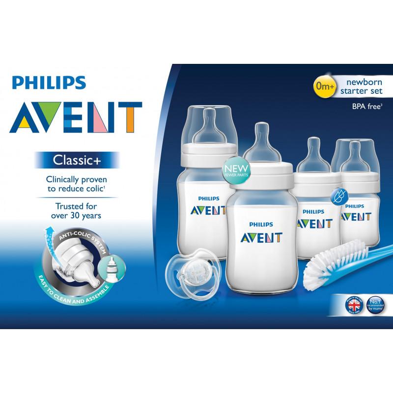 Комплект за новородено Philips AVENT Anti-Colic AirFree с биберон 0-12 месеца  97800