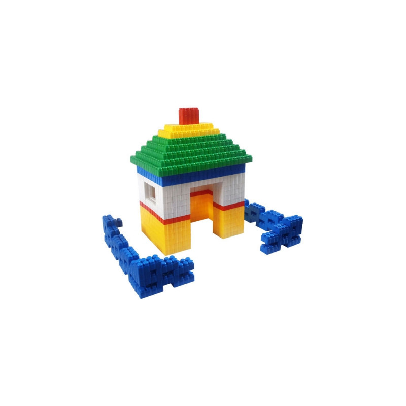 Конструктор Къща с ограда 384  9896