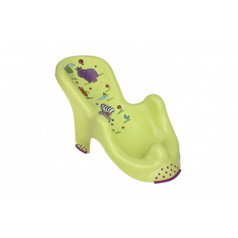 Пластмасова подложка за къпане HIPPO - Зелена  99261