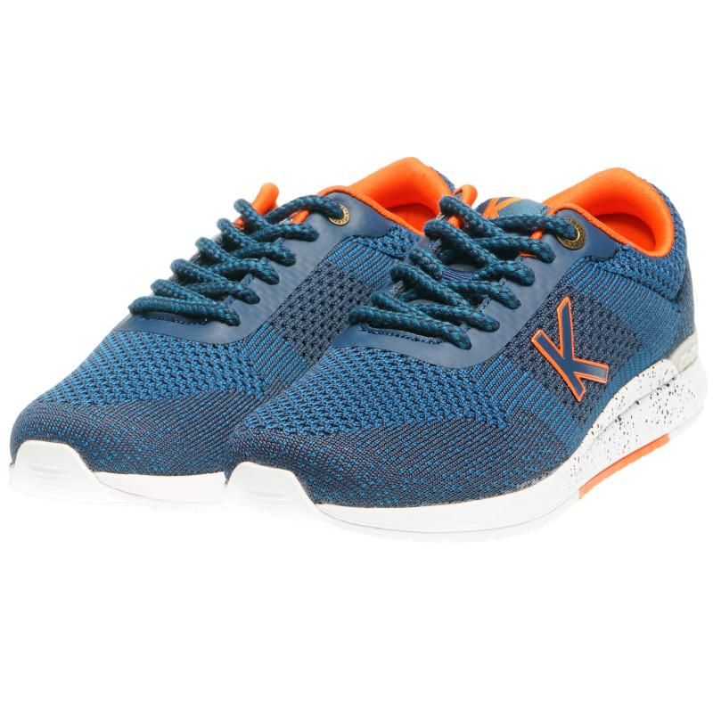 Сини ежедневни маратонки унисекс  99434