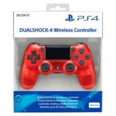 Безжичен контролер dualshok translucent ps4 red SONY 9945