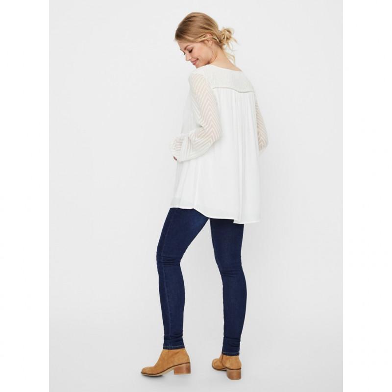 Блуза за бременни с полупрозрачни ръкави  99595