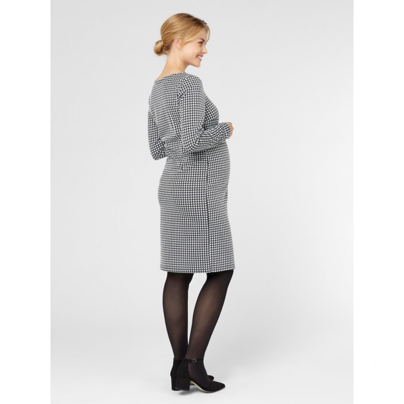 Карирана рокля за бременни  99630