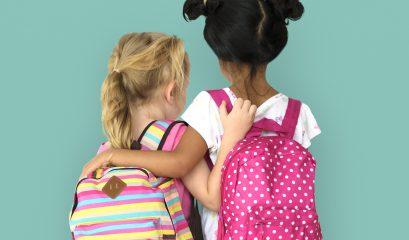 little,girls,backpack,back,view